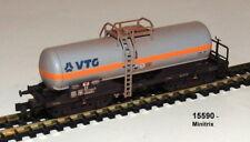 """Trix Minitrix 15590 Chlorgaskesselwagen """"VTG"""" der DB AG gealtert #NEU in OVP#"""