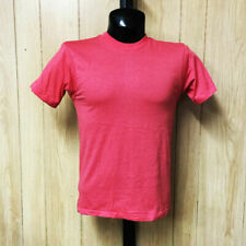 Vintage Screen Stars T-Shirt Blank Plain Deadstock Soft Thin Coral S-XL USA