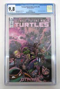 Teenage Mutant Ninja Turtles #95 CGC 9.8 1st Jennika as Turtle Eastman Variant