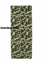 A Bathing Ape ABC SPORT TOWEL Green Camo *Compressed* Auth from BAPE Japan