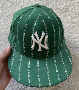 New York Yankees New Era 59Fifty Baseball Hat Size 7 1/2 MLB Genuine Merch