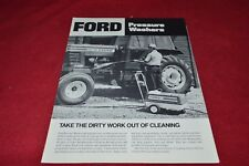 Ford Tractor Power Washer Dealer's Brochure YABE15
