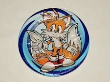 NEW~SONIC THE HEDGEHOG~8- PAPER DESSERT PLATES  -  PARTY SUPPLIES