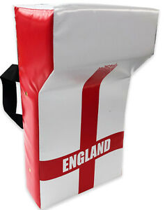England Rugby Union Professional Grade Personalised Tackle Wedge Hit Shield