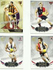 2009 AFL SELECT PINNACLE PROMO SET FRANKLIN HURLEY HILL SCHNEIDER 4 CARDS