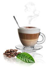 12 Pz chiaro base Tè Caffè Espresso Tazze Set Tazza MUG in vetro da pranzo in regalo