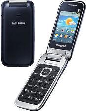 SAMSUNG C3595 Unlocked 3G Flip Fold Big Buttons Stylish Mobile Phone