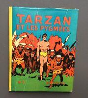 HOGARTH. Tarzan et les Pygmées n°7 avec jaquette. Hachette 1940 EO.Très bel état