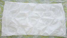 West Elm Organic Cotton Pintuck White King Sham New