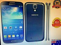 NEW Samsung Galaxy S4 4G LTE Android GT-i9500 Unlocked Smartphone Black AUSStock