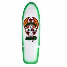 Dogtown Jim Muir OG RED DOG DESIGNS Skateboard Deck WHITE w/GREEN FADE