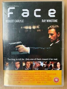 Face DVD 1997 British Heist Robbery Crime Thriller starring Robert Carlyle