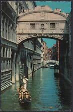 AX0787 Venezia - Ponte dei Sospiri - Cartolina postale - Postcard