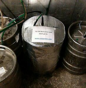 INSULATED KEG JACKET & 2 ICE SHEETS cooler cooling lager beer smooth kegs barrel