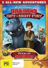 Dragons Gift of the Night Fury & Book of Dragons DVD region 4