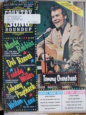 TOMMY OVERDTREET MARTY ROBBINS JULY 1972 COUNTRY SONG ROUNDUP MUSIC MAGAZINE