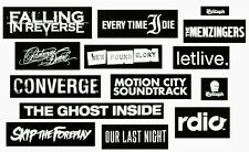 HUGE Punk/Metal Stickers Lot! EVERY TIME I DIE PARKWAY DRIVE FALLING IN REVERSE