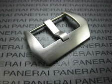 24mm PRE-V SCREW IN BUCKLE 316L Swiss Stainless made for PANERAI 1PC Brush White