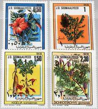 SOMALIA 1978 270-73 463-66 Blüten Blumen Flora Local Flowers Pflanzen MNH