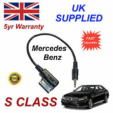 Mercedes Benz S Class A0018279204 3.5mm jack plug MP3 iPod  cable replacement