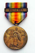 USA MILITARY MEDAL FOR THE LANDING IN RUSSIA. 1918 .