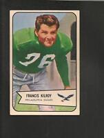 1954 Bowman # 79 Francis Kilroy  Ex-Mt