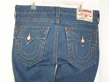 "True Religion ""Billy"" Men's Medium Wash Boot Cut Denim Jeans 38 x 31"