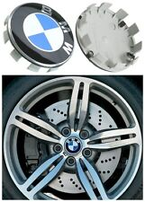 4 X 68 MM Replacement for BMW Alloy Wheel Center Hub Cap 36136783536 Blue