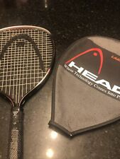 New listing HEAD LASERSPEED 500 RACQUETBALL RACKET with COVER