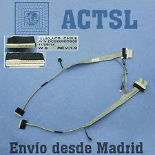Cable de Video LCD Flex para ACER Dc02000ds00