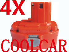 4 Battery For Makita 18V A 3.0Ah Ni-MH 6936D LS800DWB JR180DWD 5620DWD Drill OZ