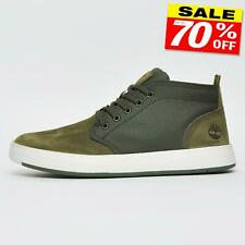 Timberland Davis Square Mens Nubuck Leather Chukka Boots Shoes B Grade