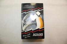 New Adams Pro-100 Chin Strap Football Helmet  Light Gold Chinstrap