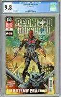 Red Hood Outlaw #50 CGC 9.8 1st First Print Edition Dan Mora Cover DC