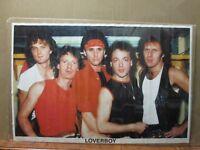 Vintage Poster Loverboy canadian rock band Inv#G2355