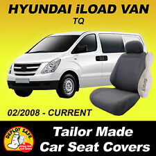 Car Seat Covers Fit HYUNDAI iLOAD I-LOAD i-LOAD Van 02/2008-Current Airbag Safe!