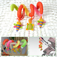 Kid Baby Stroller Car Seat Cot Crib Pram Spiral Plush Toy Cute Hanging Activity