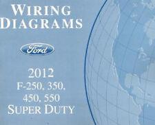 2012 Ford F250 F350 F450 F550 Factory Wiring Diagram Scehmatics Manual