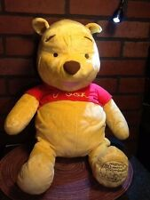 "Large WINNIE THE POOH 24"" Plush Fisher Price 80 Years Stuffed Pooh Bear"