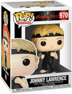 Funko POP! Television: Cobra Kai JOHNNY LAWRENCE Figure #970 w/ Protector