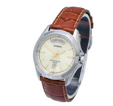 -Casio MTP1370L-9A Men's Strap Fashion Watch Brand New & 100% Authentic
