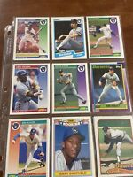 Lot Of 48 Brewers Baseball Cards 1988-1992 Topps, Score, Fleer Including Rare RC