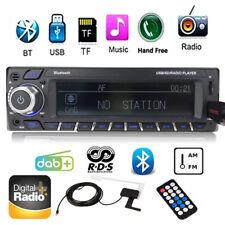 1DIN Autoradio Stereo DAB+ RDS FM AM Audio Bluetooth AUX USB MP3 Player HeadUnit