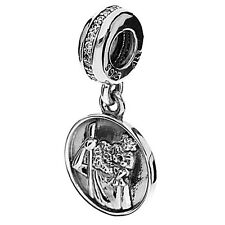 GENUINE PANDORA GUARDIAN OF TRAVEL CHARM St. Christopher  791715CZ