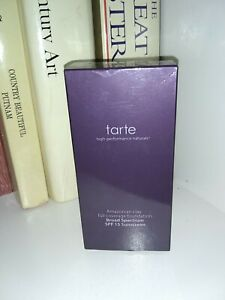 NIB: TARTE Amazonian Clay Foundation Full Coverage DEEP SAND Full Size 1.7 oz