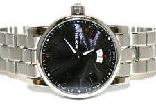 Montblanc Star Black Dial Stainless Steel Automatic Men's Watch 102340