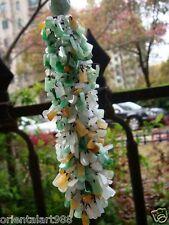 Tricolor 100% Natural Untreated Jadeite Jade Safety Car Hang Pendant【Grade A】