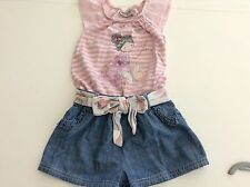 Denim NEXT Striped Clothing (0-24 Months) for Girls