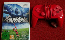 Xenoblade Chronicles Nintendo Wii Incl. Classic Red Controller