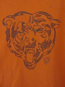 NFL Chicago Bears Mens T Shirt Size L Crew Neck Short Sleeve Team Apparel Tee